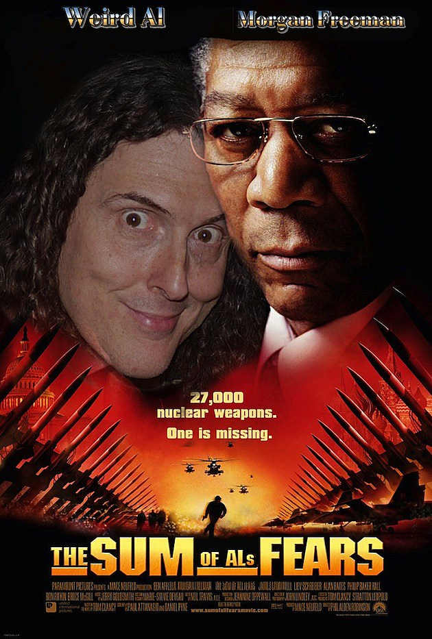 Weird Al Movie Poster 3