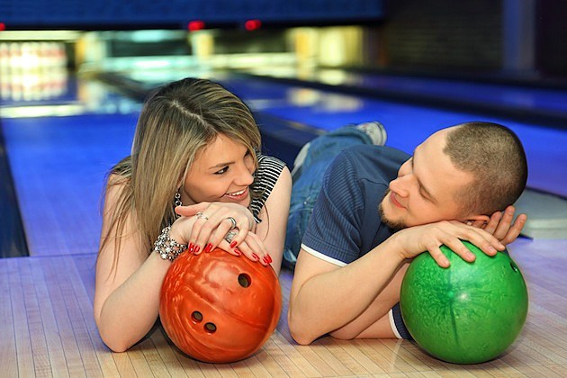 Bowling Couple