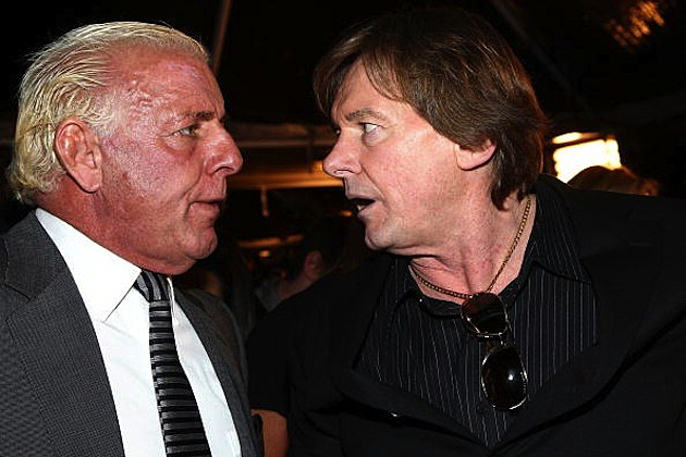 Ric Flair and Roddy Piper