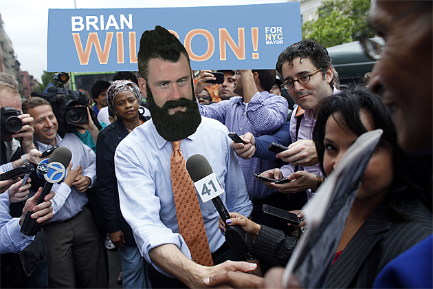 Brian Wilson, New York City Mayoral Candidate