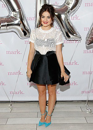 Lucy Hale Celebrates mark's 10th Birthday