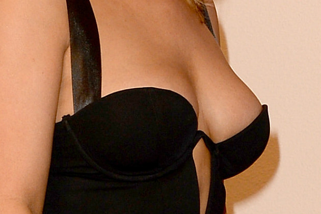 Celeb Cleavage Guess 12 31 13