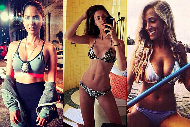 hottest NFL WAGs of 2014