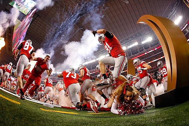 Ohio State Cheerleader