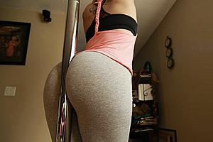 Stripper booty cheeks