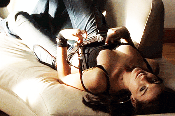 her clit bulged as her clit grew longer and longer