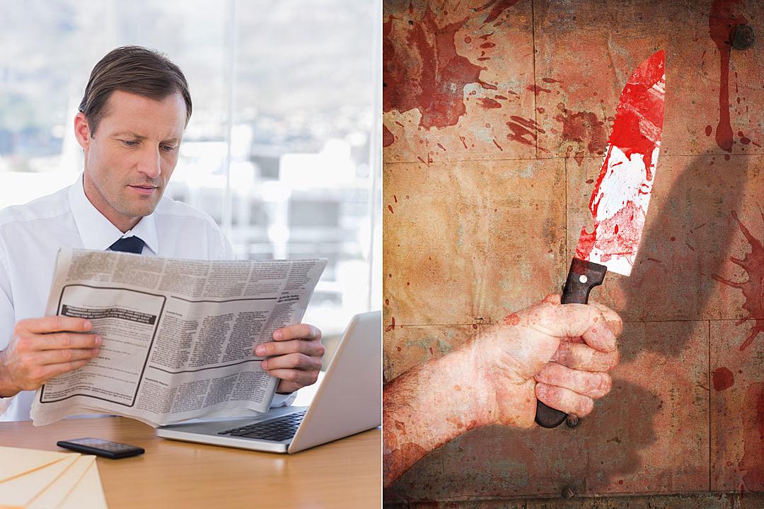 Newspaper Stabbing